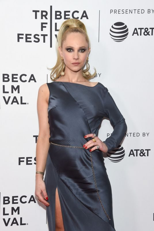 JUNO TEMPLE at Lost Transmissions Screening at 2019 Tribeca Film Festival in New York 04/28/2019