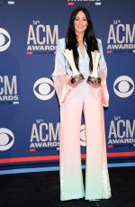KACEY MUSGRAVES at 2019 Academy of Country Music Awards in Las Vegas 04/07/2019