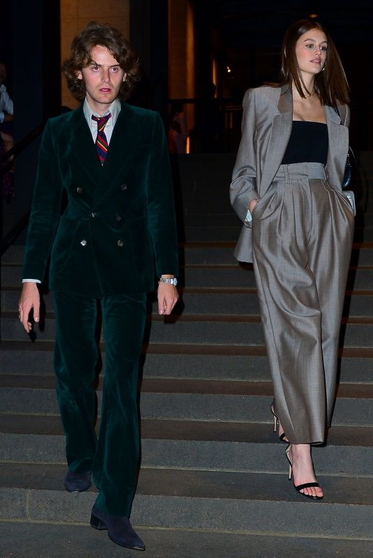 KAIA GERBER and Wellington Grant at Marc Jacobs