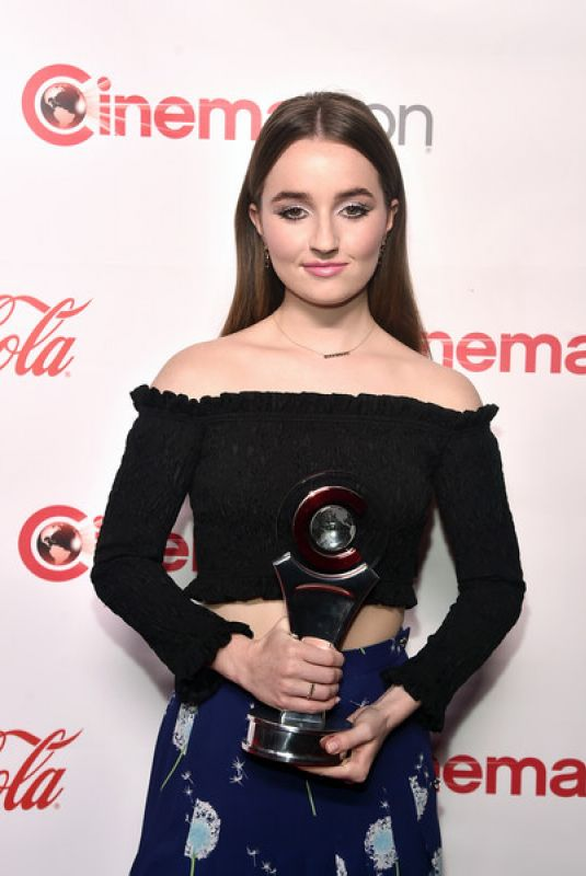 KAITLYN DEVER at Cinemacon Big Screen Achievement Awards in Las Vegas 04/04/2019