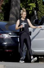KALEY CUOCO Leaves a Gym in Los Angeles 04/18/2019