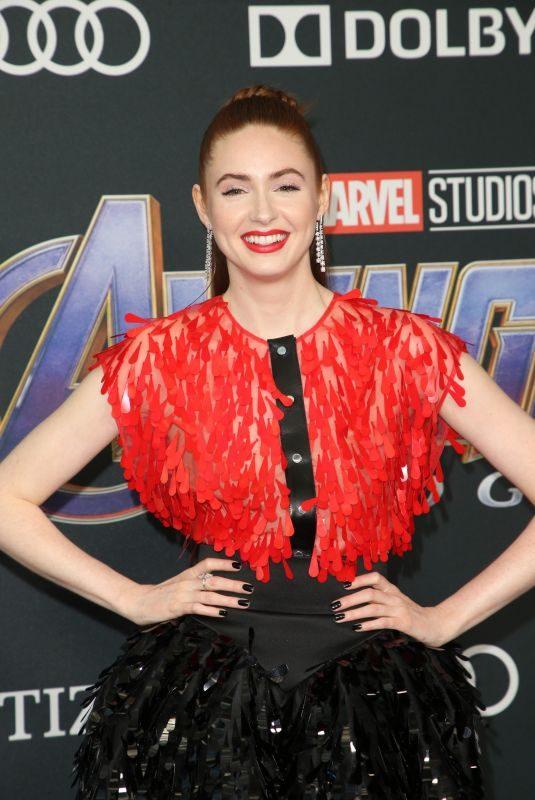 KAREN GILLAN at Avengers: Endgame Premiere in Los Angeles 04/22/2019