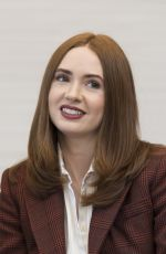 KAREN GILLAN at Avengers: Endgame Press Conference in Los Angeles 04/07/2019