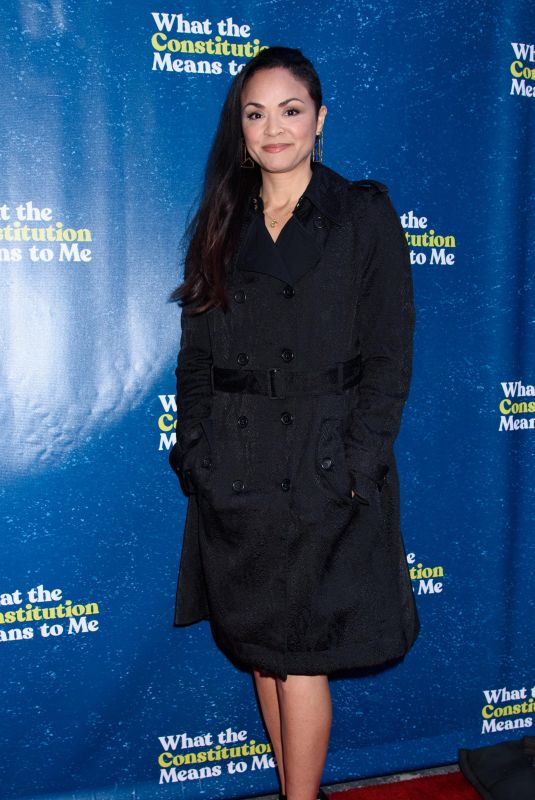 KAREN OLIVO at What the Constitution Means To Me Opening Night in New york 03/31/2019