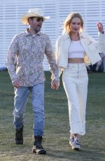 KATE BOSWORTH and Michael Polish Out at Coachella 04/13/2019