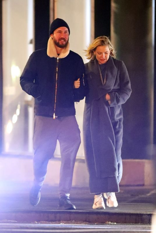 KATE HUDSON and Danny Fujikawa Out in New York 04/04/2019