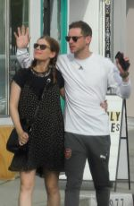 KATE MARA and Jamie Bell Out in Los Angeles 04/08/2019