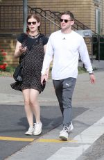 KATE MARA and Jamie Bell Out in New York 04/08/2019