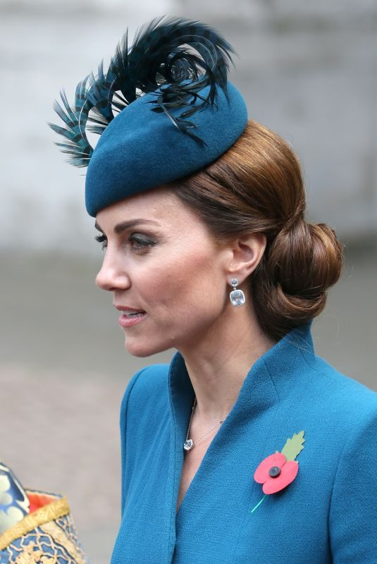 KATE MIDDLETON at Anzac Day Service of Commemoration and Thanksgiving at Westminster Abbey in London 04/25/2019