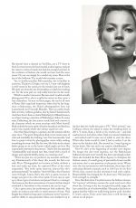 KATE MOSS in Vogue Magazine, UK May 2019
