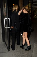 KATE MOSS Out for Dinner in New York 04/08/2019