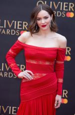 KATHARINE MCPHEE at 2019 Laurence Olivier Awards in London 04/07/2019
