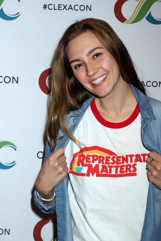 KATHERINE BARRELL at Clexacon at Tropicana Hotel & Casino in Las Vegas 04/13/2019