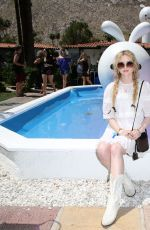KATHRYN NEWTON at American Express Platinum House in Palm Springs 04/13/2019