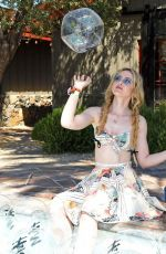 KATHRYN NEWTON at Poolside with H&M at Coachella 04/12/2019
