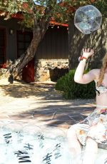 KATHRYN NEWTON at Poolside with H&M in Palm Springs 04/13/2019