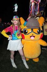 KATHRYN NEWWTON at Detective Pikachu Installation at Coachella 04/12/2019