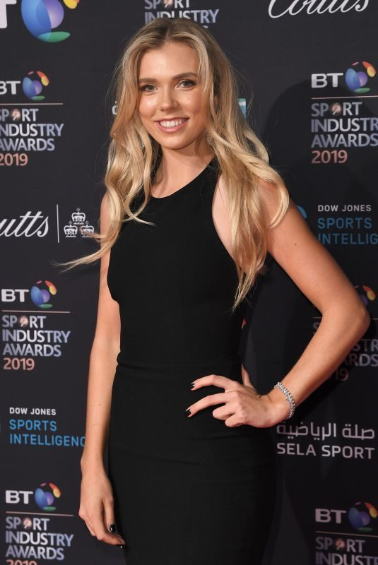 KATIE BOUTLER at BT Sport Industry Awards 2019 in London 04/25/2019