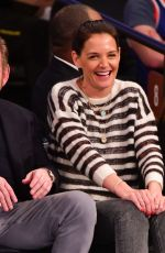KATIE HOLMES at Washington Wizards vs New York Knicks Game in New york 04/07/2019