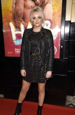 KATIE MCGLYNN at Hair the Musical Opening Night in Manchester 04/09/2019