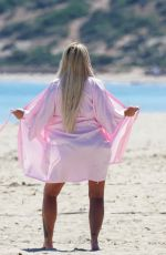 KATIE PRICE at a Photoshoot in Ibiza 04/11/2019