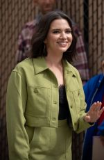 KATIE STEVENS Arrives at Jimmy Kimmel Live in Los Angeles 04/16/2019