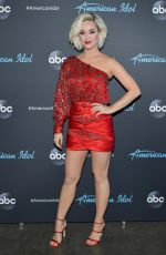 KATY PERRY at American Idol in Los Angeles 04/12/2019