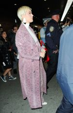 KATY PERRY Leaves Wwicked on Broadway in New York 04/10/2019