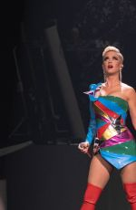 KATY PERRY Performs at Capital One Jamfest at NCAA March Madness Music Series in Minneapolis 04/07/2019