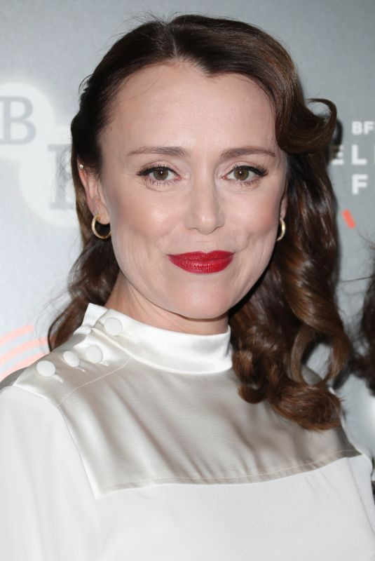 KEELEY HAWES at BFI and Radio Times Television Festival Summer of Rockets in London 04/12/2019