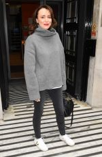 KEELEY HAWES Leaves BBC Radio 2 in London 04/04/2019
