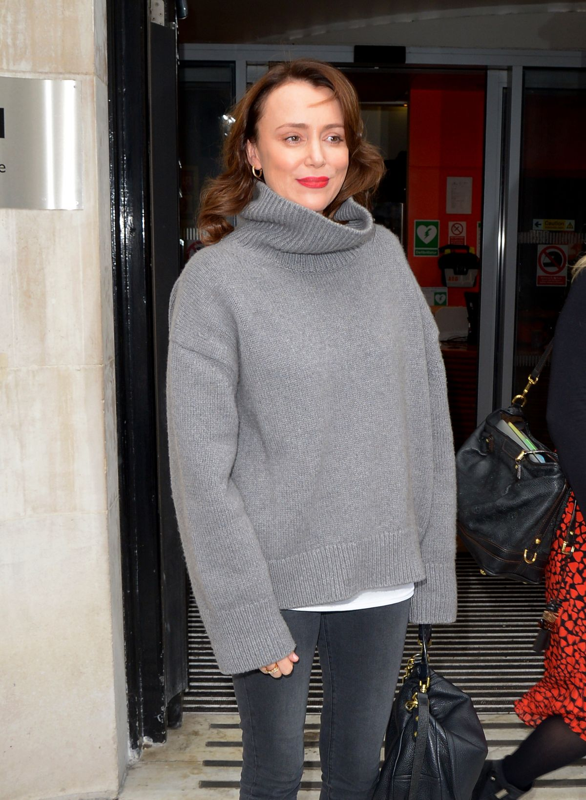 KEELEY HAWES Leaves BBC Radio 2 in London 04/04/2019 ...