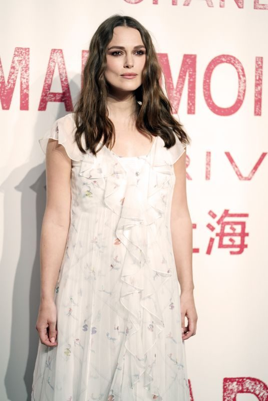 KEIRA KNIGHTLEY at Chanel Mademoiselle Prive Exhibition in Shanghia 04/18/2019