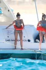 KELEIGH SPERRY in Bikini at a Yacht in Cabo San Lucas 04/11/2019