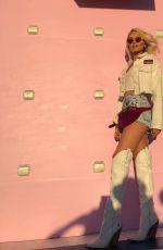 KELLI BERGLUND at Coachella - Instagram Pictures, April 2019
