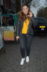KELLY BROOK and SIAN WELBY at Global Radio in London 04/08/2019