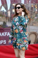 KELLY BROOK at Global Radio Studios in London 04/01/2019