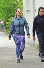 KELLY BROOK Out in Primrose Hill 04/16/2019
