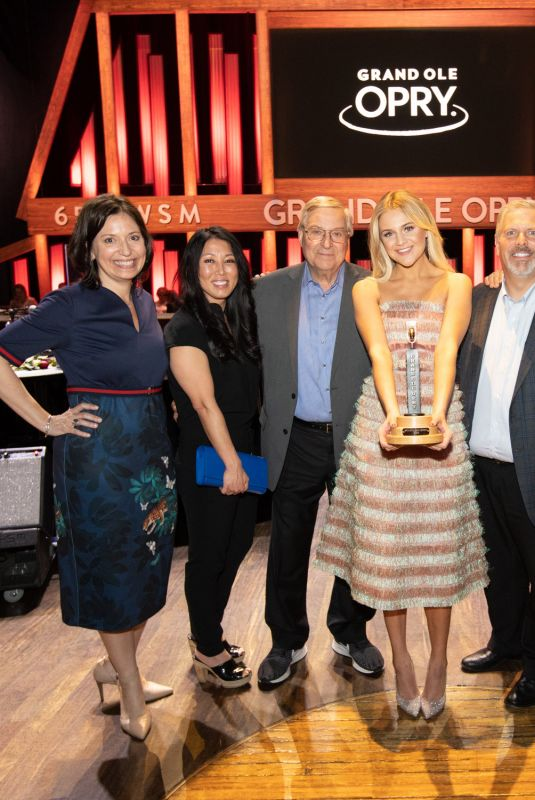 KELSEA BALLERINI Becomes a Member of Grand Ole Opry in Nashville 04/16/2019