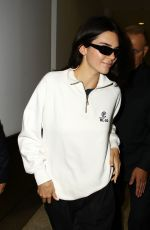 KENDALL JENNER Arrives at Airport in Sydney 04/04/2019