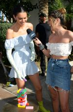 KENDALL JENNER at Interview with Erin Lim for E! News in Indio 04/14/2019