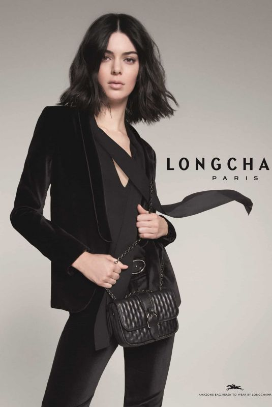 KENDALL JENNER for Longchamp New 2019 Campaign