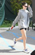 KENDALL JENNER in Shorts Heading to a Gym in Hollywood 04/06/2019