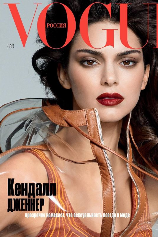 KENDALL JENNER in Vogue Magazine, Russia May 2019