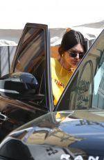KENDALL JENNER Leaves Kate Somerville Spa in West Hollywood 04/02/2019