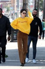 KENDALL JENNER Out in Los Angeles 04/02/2019