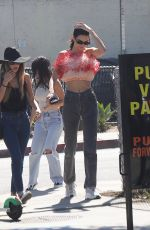 KENDALL JENNER Out in Santa Monica 04/18/2019