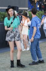 KERRIS DORSEY and Dylan Minnette at Coachella 04/13/2019