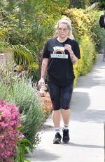 KESHA SEBERT Out Hiking in Santa Monica 04/07/2019