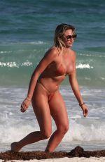 KHLOE TERAE in Bikini at a Beach in Tulum 04/01/2019